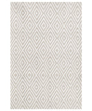 Cape May Diamond Indoor/Outdoor Rug, Platinum