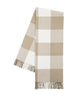 Buffalo Check Throw Blanket, Dune