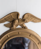 Vintage Federalist Mirror with Eagle
