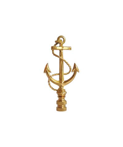 Brass Anchor Lamp Finial