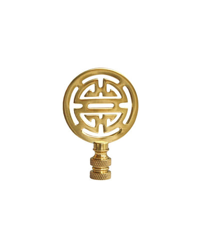 Brass Asian Style Lamp Finial