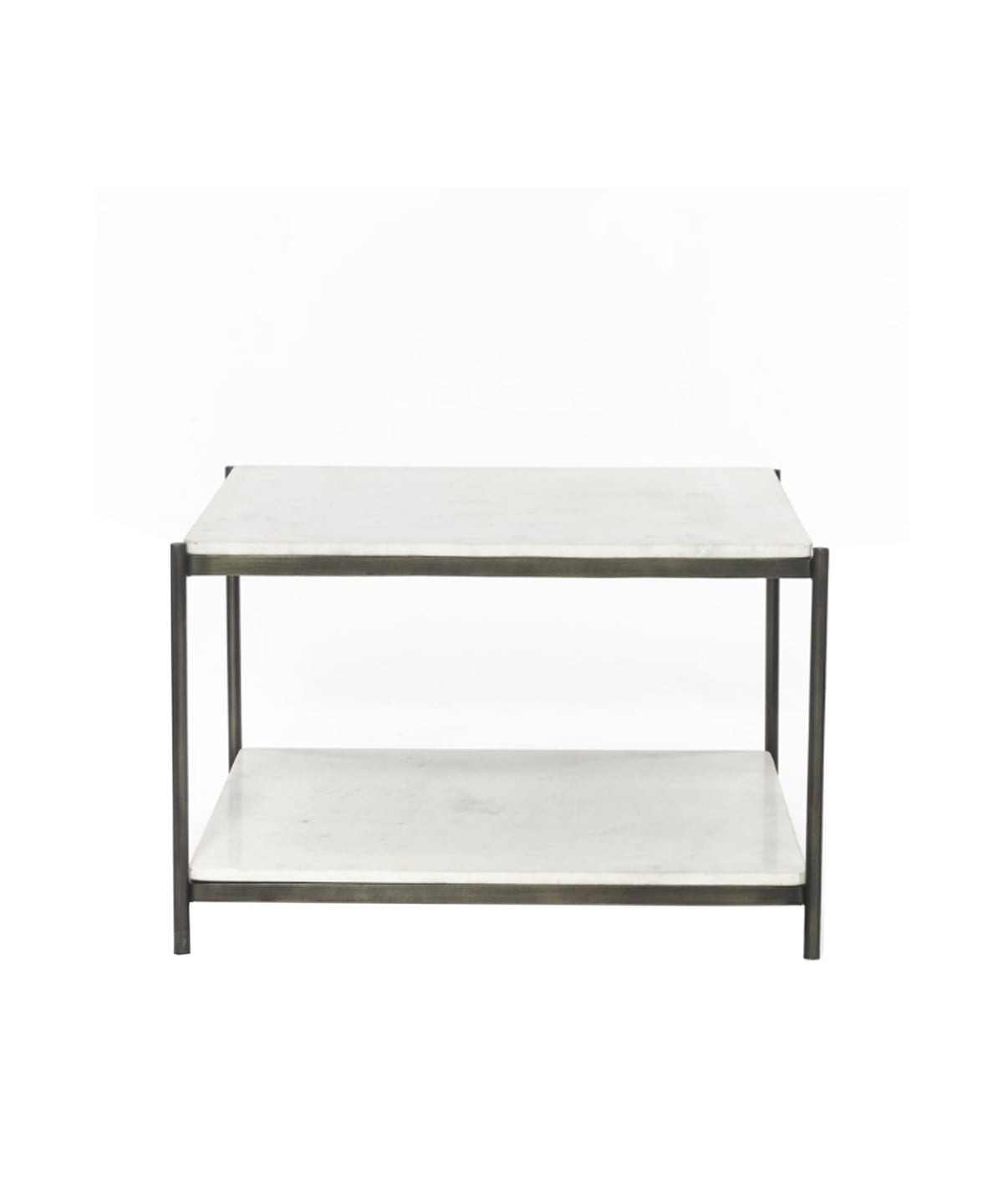 Picture of: Finn Marble Top Coffee Table Iron Frame High Street Market