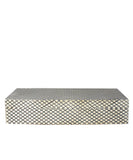Fishnet Bone Clad Storage Box