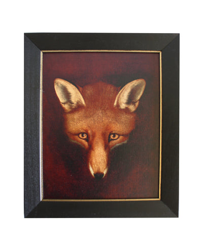 Large Framed Fox Portrait