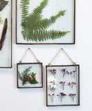 Hanging Double Sided Glass Picture Frame