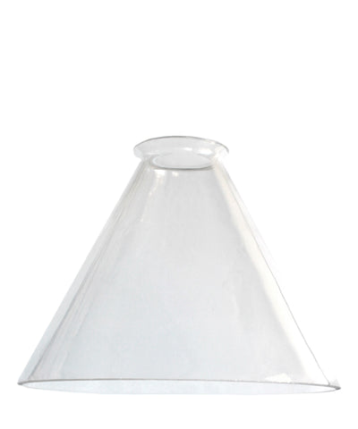 Tapered Glass Shade, 8.75""