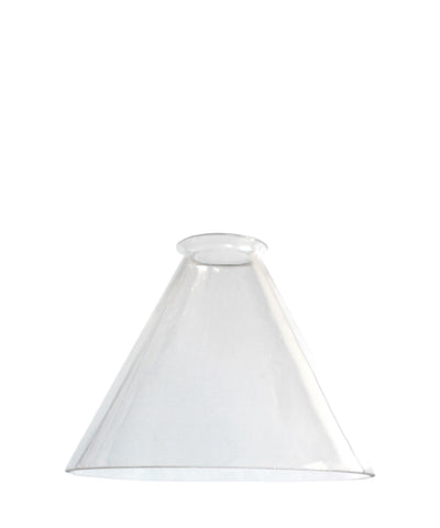 Tapered Glass Shade, 7""