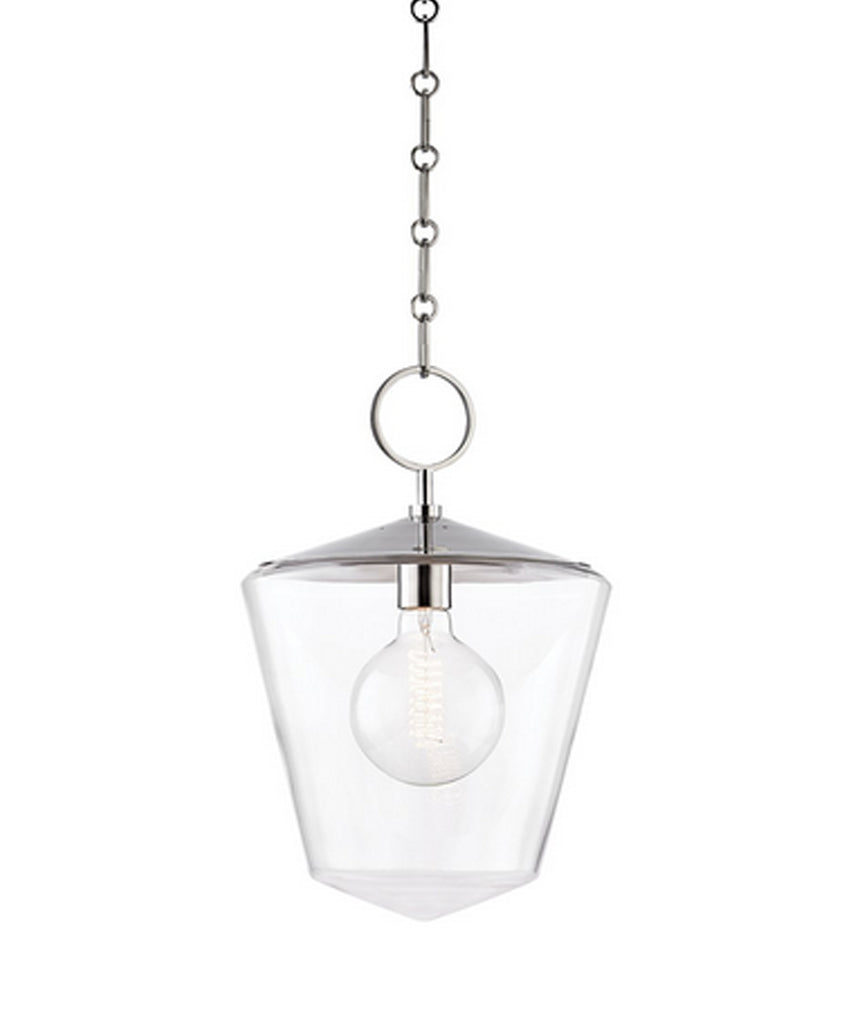 Greene Pendant, Polished Nickel