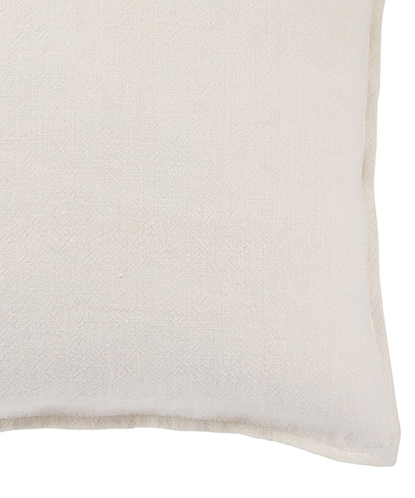 Linen Weave Pillow, Canvas White