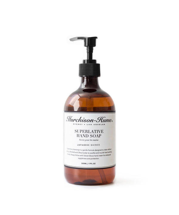Murchison-Hume Superlative Hand Soap, Japanese Quince