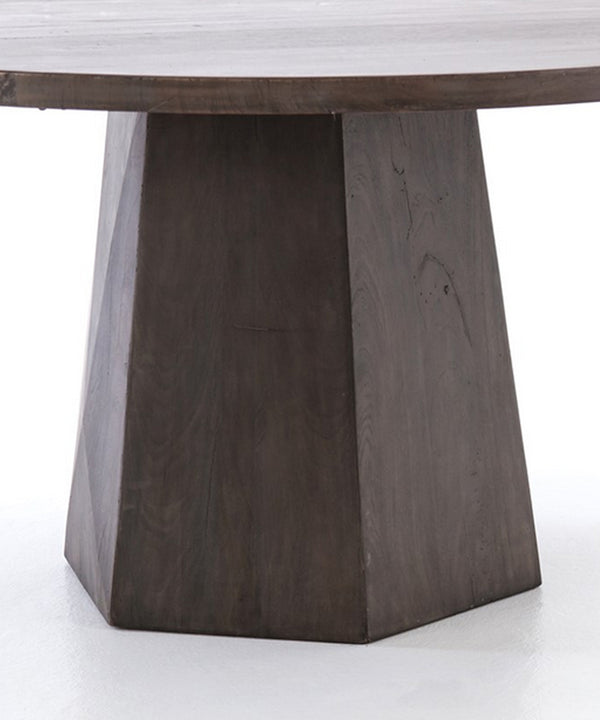 Kent Wood Round Dining Table, 60""