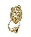 Large Brass Lion Door Knocker
