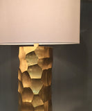 Daphne Table Lamp, Brushed Gold