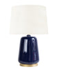 Logan Table Lamp, Indigo