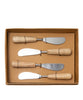 Mango Wood Spreaders, Set of 4