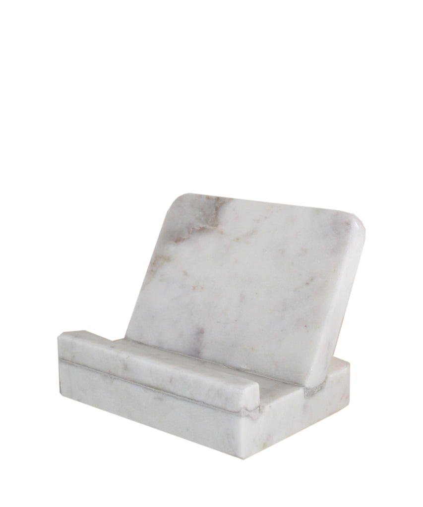 Marble Rectangle Cookbook Stand
