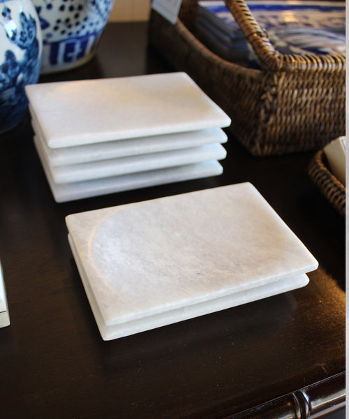 Affordable Marble Home Decor: Small White Marble Tray