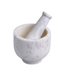 White Marble Mortar & Pestle Set