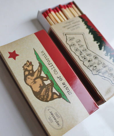 California Matchbook