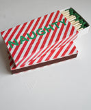 Naughty & Nice Matchbook