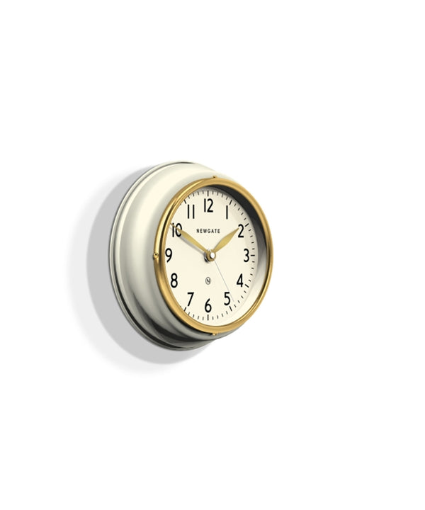 Mini Kitchen Cook Clock, White