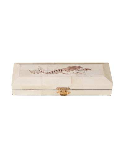 Mermaid Bone Clad Storage Box