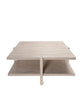 Milton Coffee Table, Cerused Oak
