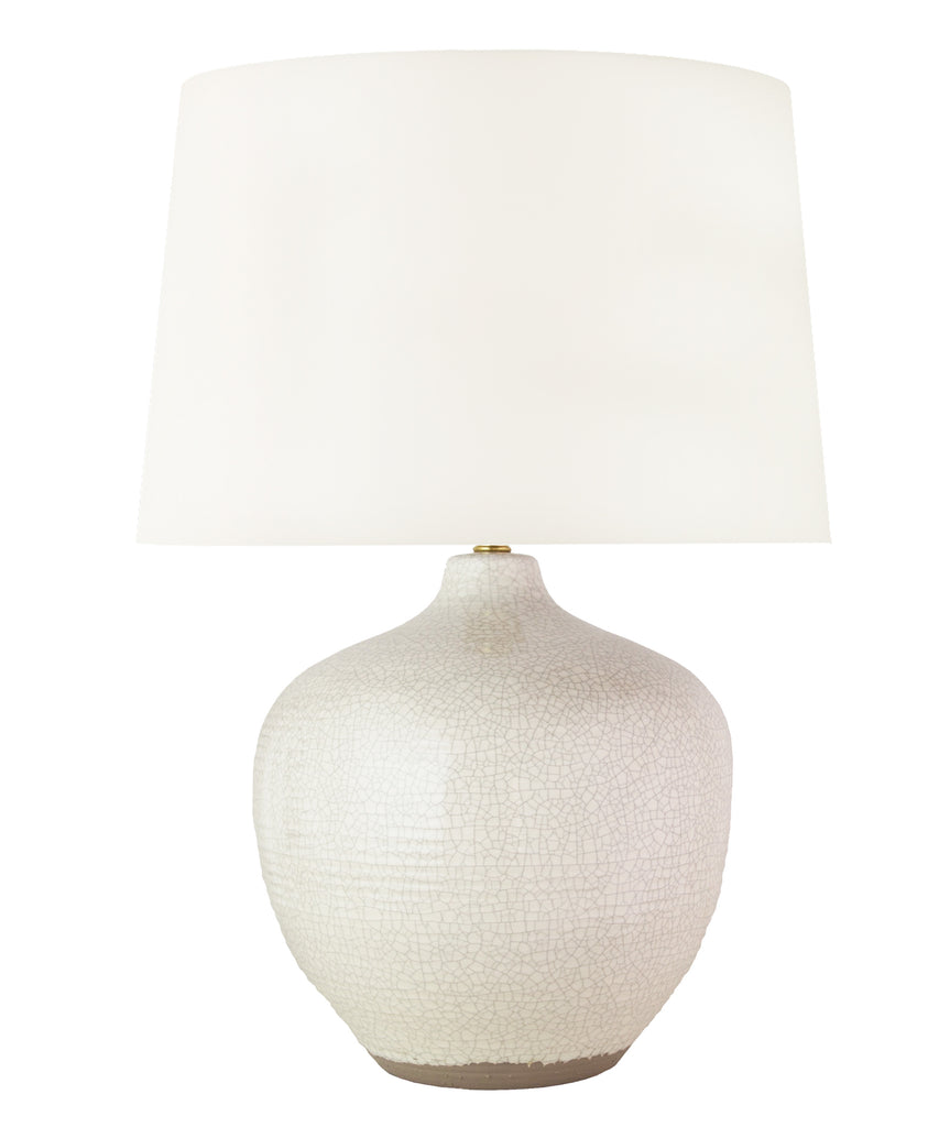 Monterey Table Lamp, Rustic White
