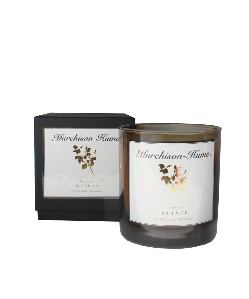 Murchison-Hume Japanese Quince Candle