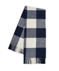 Buffalo Check Throw Blanket, Navy
