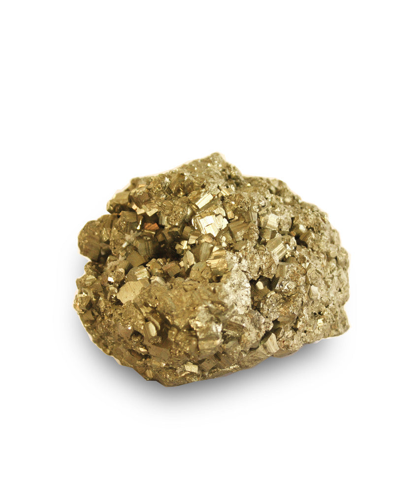 "Large ""Gold Nugget"" Paperweight"