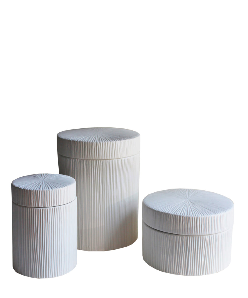 White Porcelain Ocean Jars