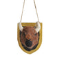 Woodland Felt Plaque, Buffalo Ornament