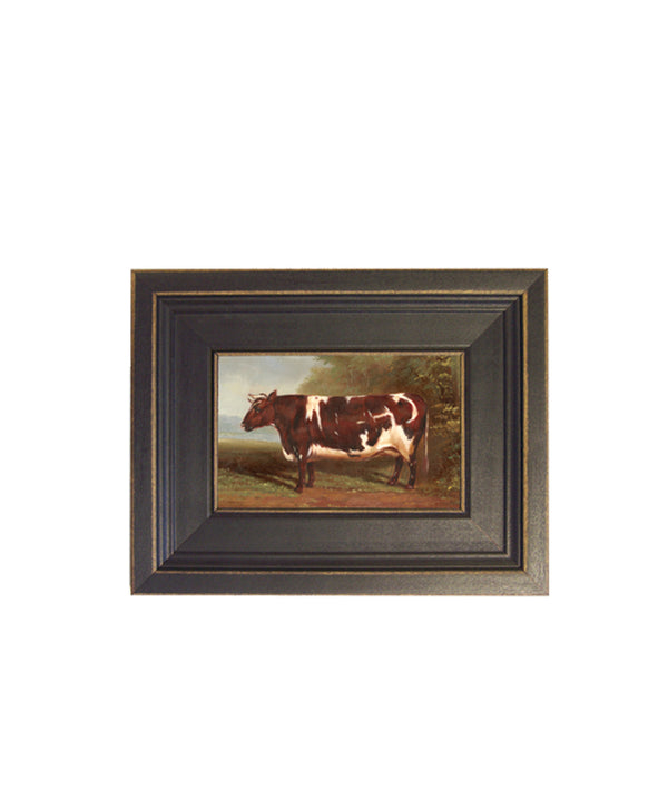 Framed Prize Cow