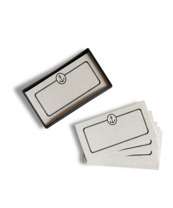 Anchor Placecards or Gift Tags, Box Set of 32 - High Street Market