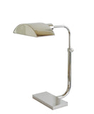 Koleman Adjustable Task Lamp, Polished Nickel