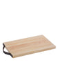 Santa Monica Maple Serving Board, Rectangular with Leather Handle