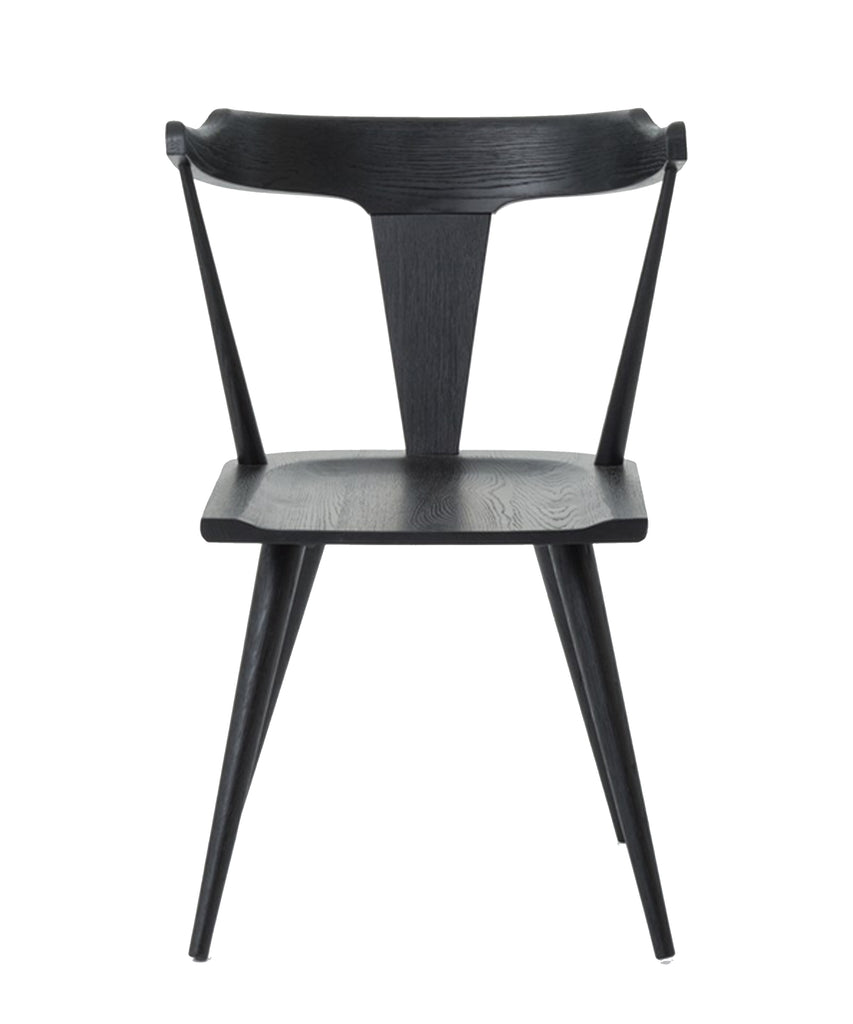 Ryder Dining Chair, Black Oak