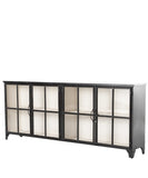 Seabrook Iron Sideboard, Black