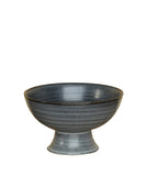Lincoln Footed Bowl, Indigo