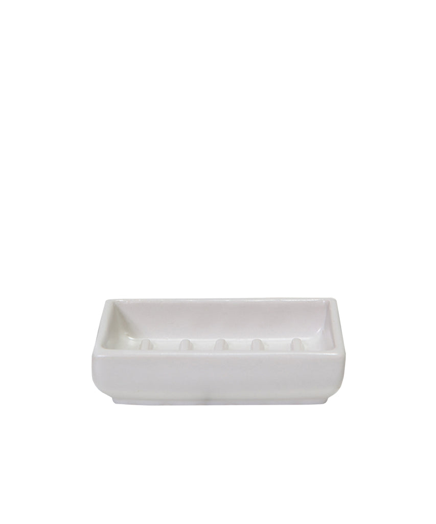Grayson Soap Dish, White