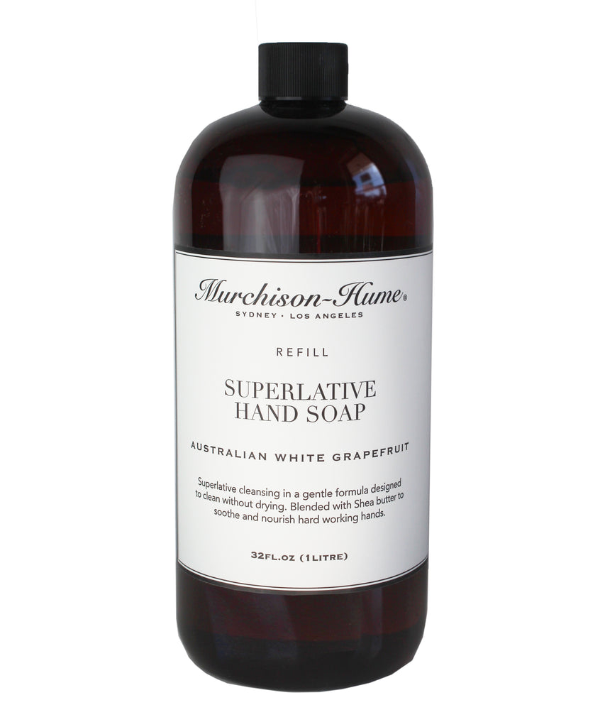 Murchison-Hume Superlative Hand Soap Refill, White Grapefruit