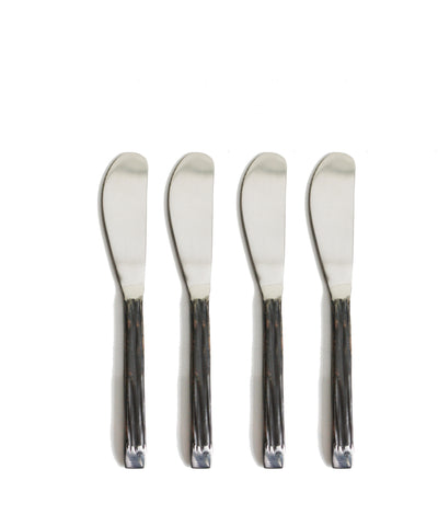 Modern Faux Bois Spreaders, Set of 4