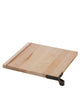 Santa Monica Maple Serving Board, Square with Leather Handle