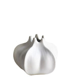 White Porcelain Star Fruit Vase
