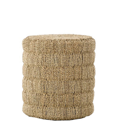 Round Rope Side Table