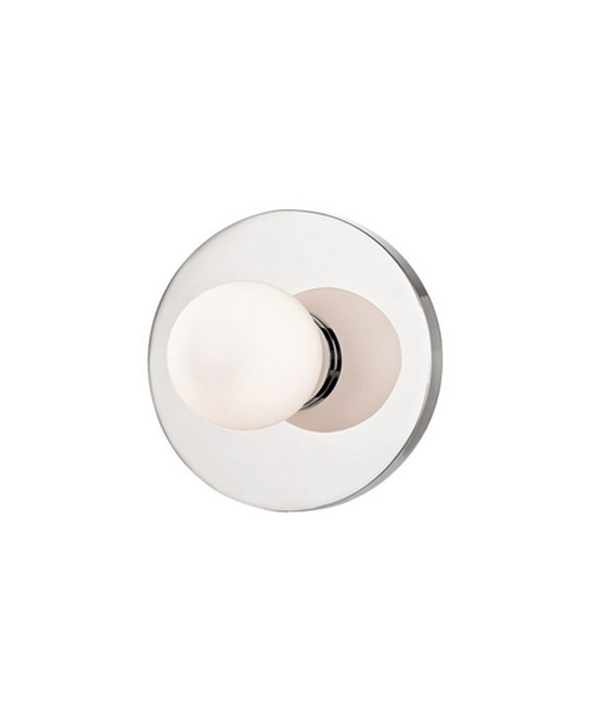 Taft Wall Sconce, Polished Nickel