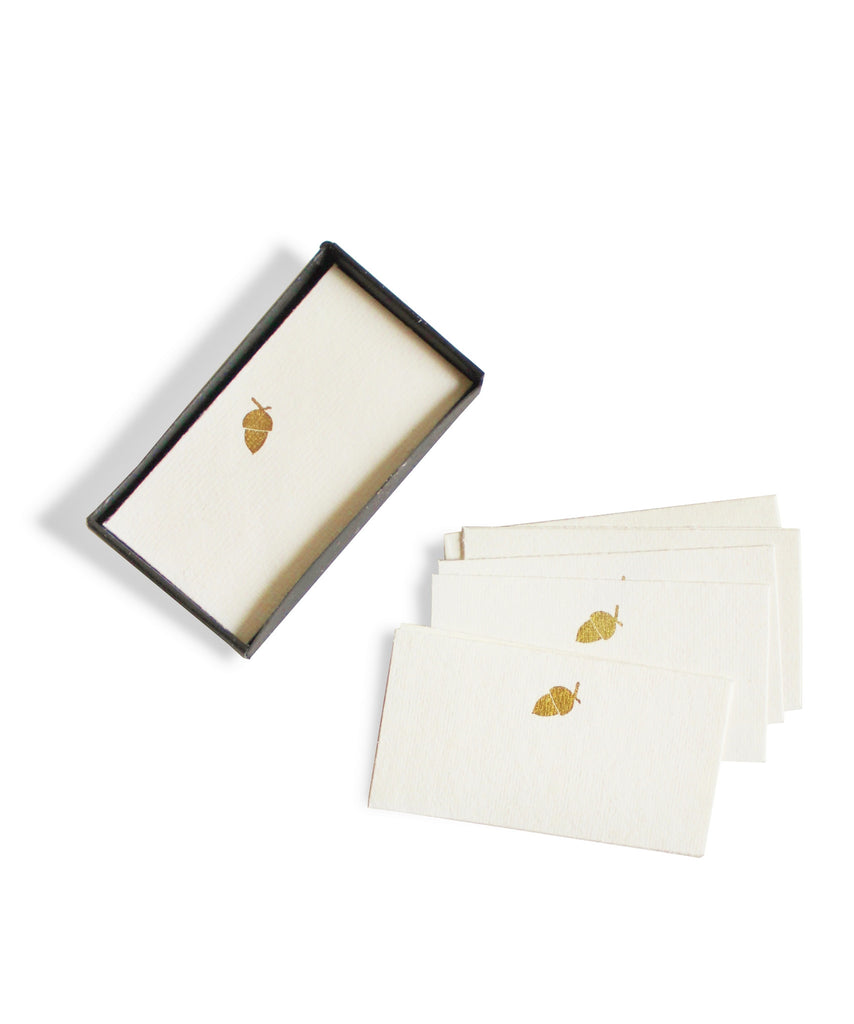Acorn Placecards or Gift Tags, Box Set of 32 - High Street Market