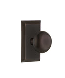Philadelphia Interior Door Knob Set, Studio Plate