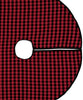 Mini Buffalo Check Wool Tree Skirt, Faribault Woolen Mill Co.